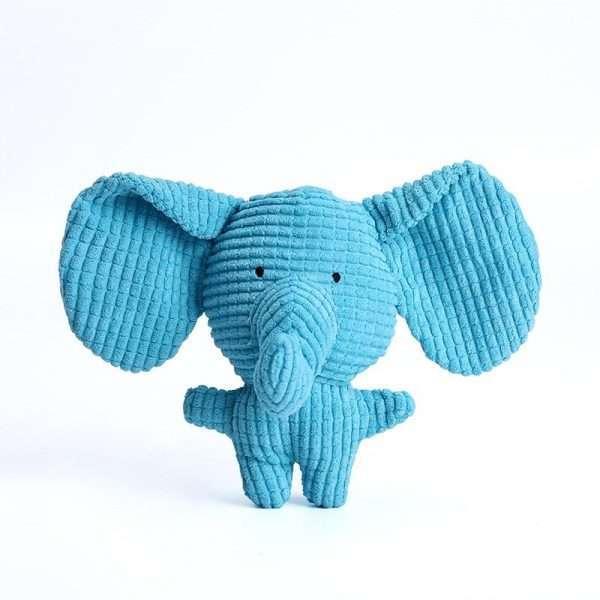 Dog stuffed toy elephant