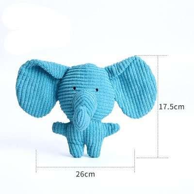 Dog stuffed toy elephant.2