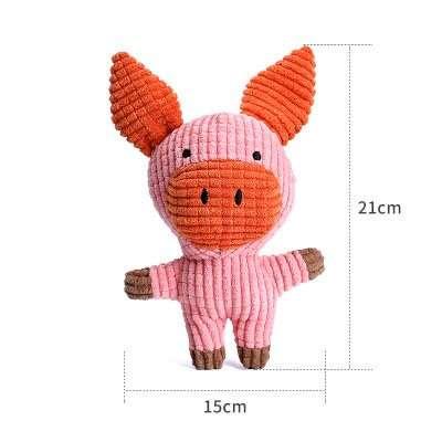 Dog stuffed toy pig
