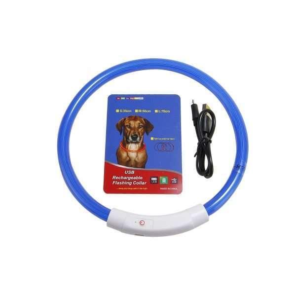 LED rechargable dog collar4