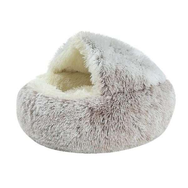 Pet cave bed