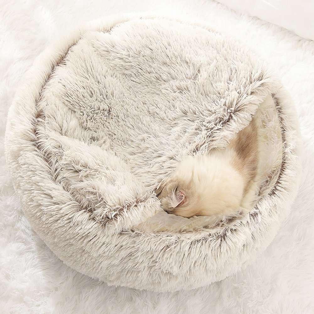 Pet cave bed3