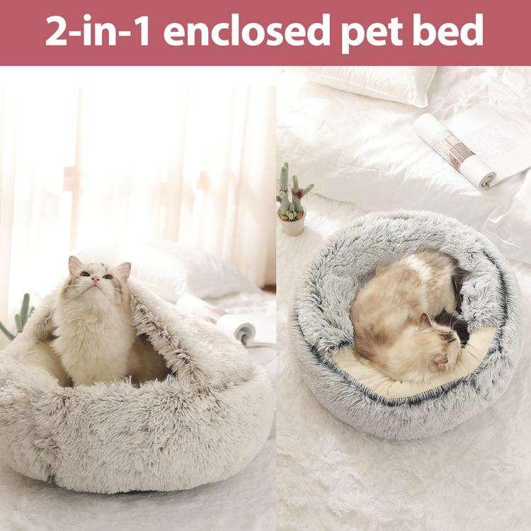 Pet cave bed6