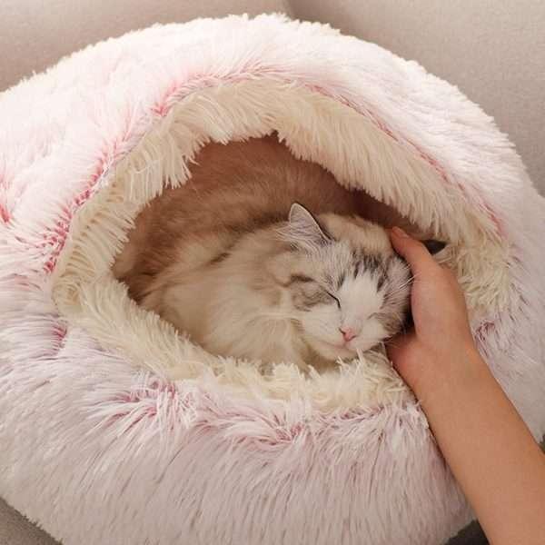 Pet cave bed711