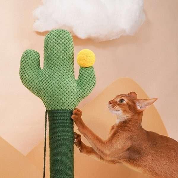 cactus cat scratching post2