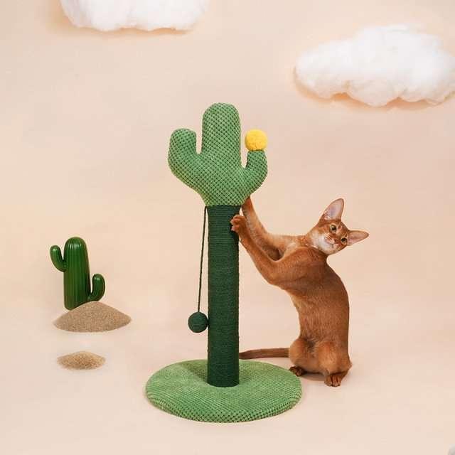 cactus cat scratching post3