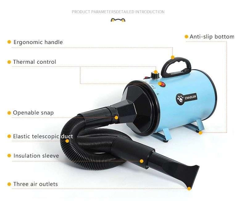 pet hair dryer 2