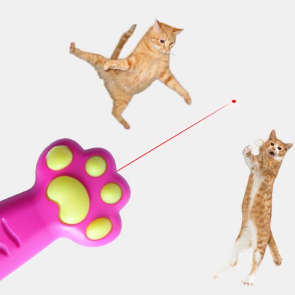 Paw Shaped lazer pointer3