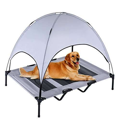 Portable animal breathable tent bed1