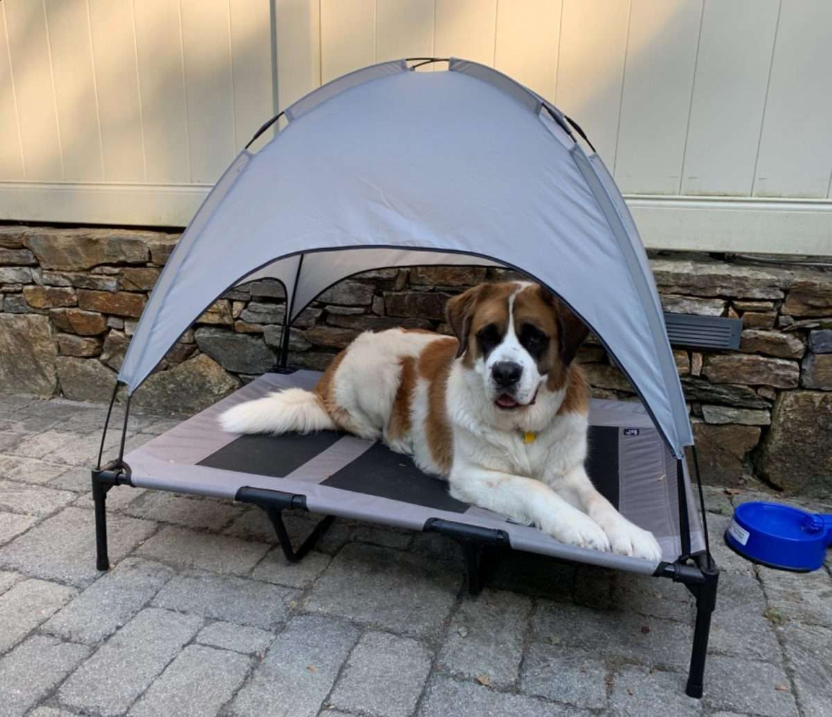 Portable animal breathable tent bed3