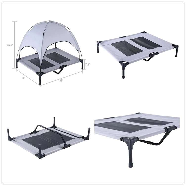 Portable animal breathable tent bed5