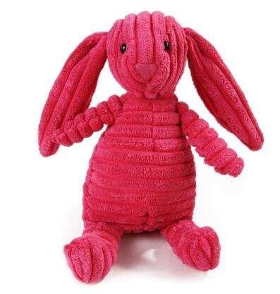 Rabbit Squeak dog Toy1