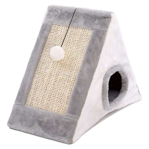 Triangle cat house3