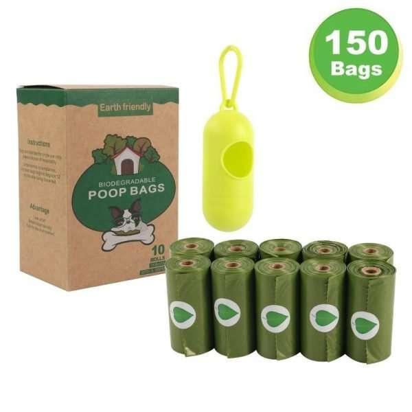 Hondenpoepzakjes - Biologisch Afbreekbaar - 150 stuks