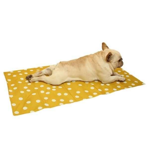 Koelmat voor Honden - Zelfkoelend - Geel - 50x40cm