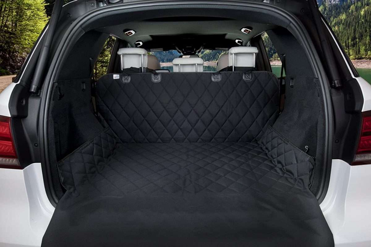 Kofferbak Beschermhoes - Zwart - 200 x 135 cm