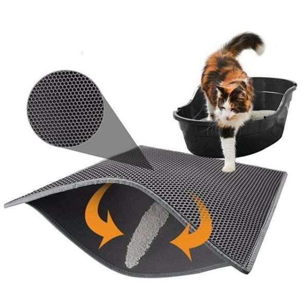 Kattenbakmat - Uitloopmat - 75x55cm