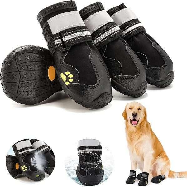 Hondenschoenen - Pootbescherming - 4 stuks